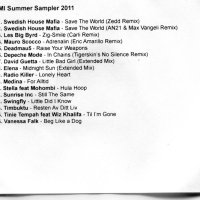 EMI Summer Sampler 2011