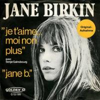 Je T'aime... Moi Non Plus / Jane B.