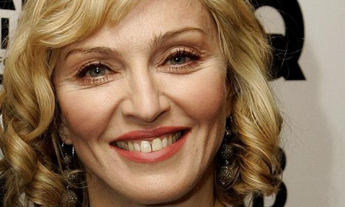 Мадонна одевается у российских дизайнеров