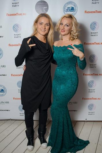 Российские модные дизайнеры на вечеринке в честь закрытия недели моды в Москве