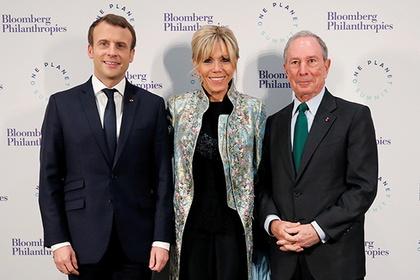 Гардероб жены президента Франции оценили эксперты Vogue