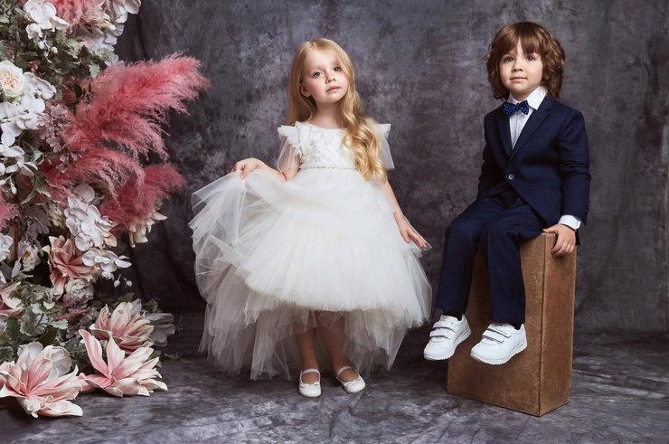 Дети Галкина стали моделями  Valentin Yudashkin Kids