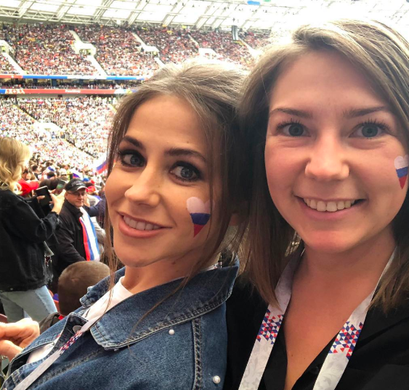 Юлия Барановская эмоционально поздравила сборную России с победой