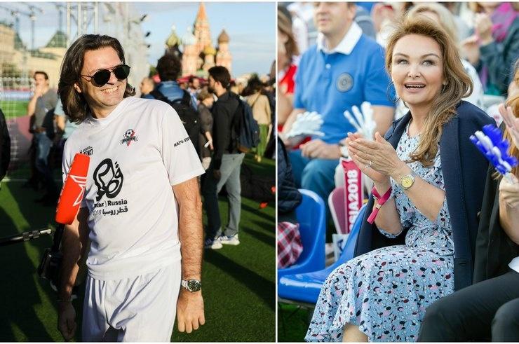 Звезды шоу-бизнеса сыграли в футбол на Красной площади