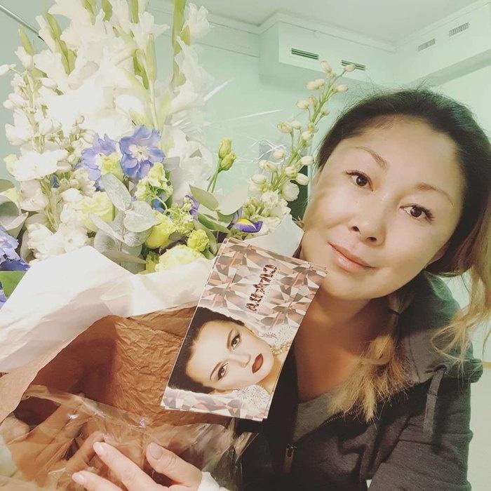 Анита Цой рассказала о реабилитации после операции
