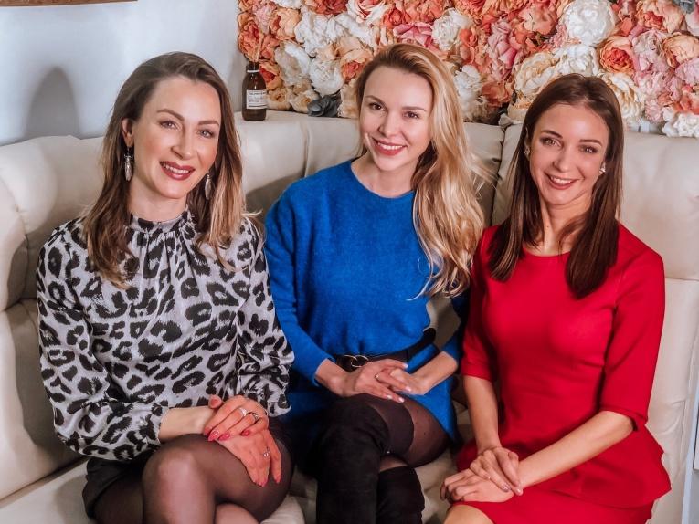 Елизавета Арзамасова, Екатерина Одинцова, Елена Борщева, Ирина Муромцева посетилиbeauty-дни в преддверии 8 марта