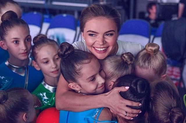 Алина Кабаева дала интервью о карьере