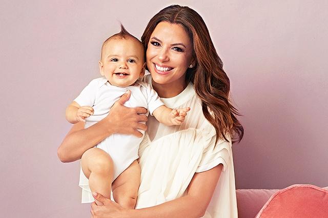 Как Ева Лонгория совмещает материнство и работу?