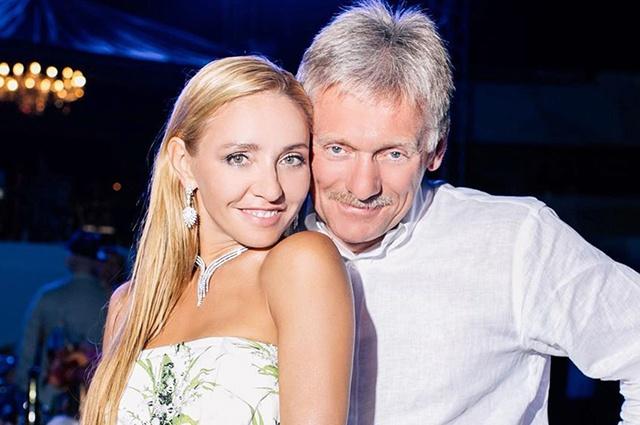 Татьяна Навка и Дмитрий Песков заразились коронавирусом