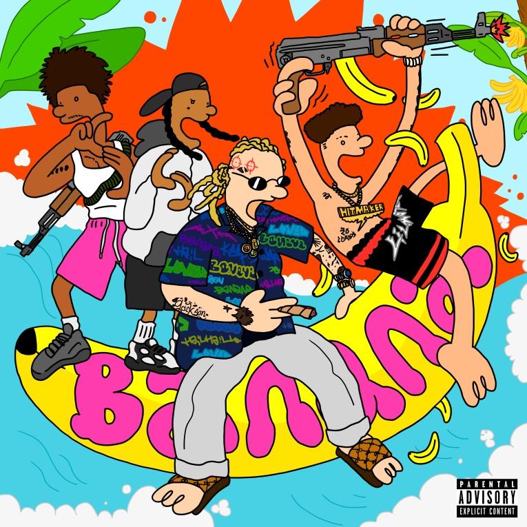 Релиз «Banana» от 28AV  при участии Lil Mosey и ДУЭТА Souf Souf