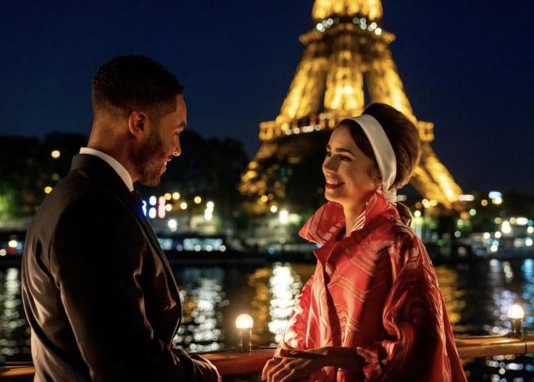 В Сети появились первые кадры второго сезона «Эмили в Париже»